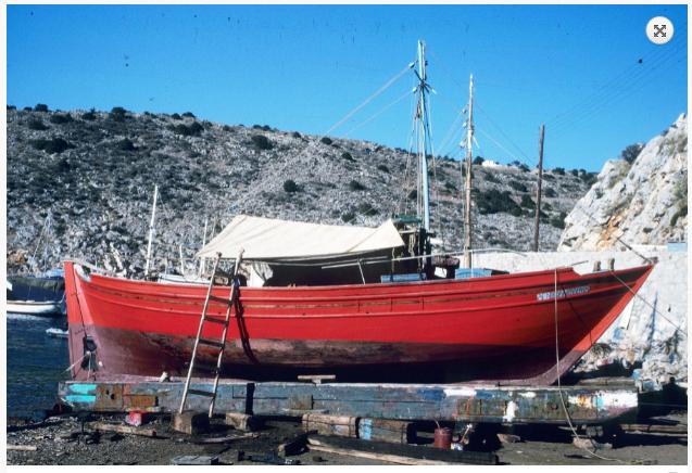 Το τσερνίκι Άγιος Νικόλαος, κατασκευάστηκε το 1910 στο Κοκκάρι της Σάμου